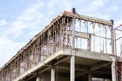 Chantier et bâtiment de construction Images stock