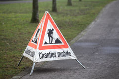 Chantier mobile Stock Photos