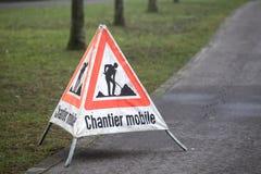 Chantier Mobile Stockfotos