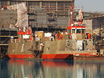 Chantier naval Images stock