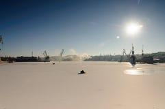 Chantier naval Photographie stock libre de droits