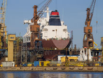 chantier naval Image stock