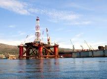 Chantier naval dans Trogir Photo libre de droits