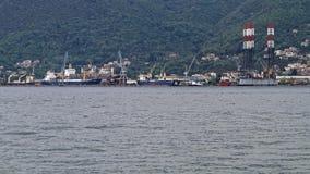 Chantier naval de Bijela photographie stock