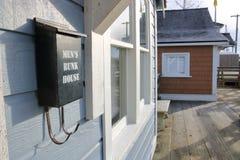 Chantier naval de Britannia et affichage de logement Images libres de droits