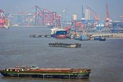 Chantier naval de Changhaï photographie stock libre de droits