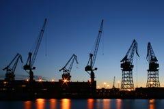 Chantier naval de Helsinki Photographie stock libre de droits