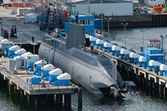 Chantier naval de Kiel Photographie stock libre de droits
