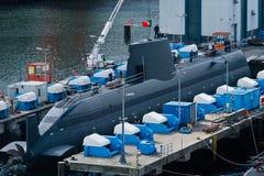 Chantier naval de Kiel Photographie stock
