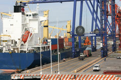 Chantier naval Mexique Photos stock