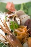 Échantillonneur 2 de sushi Images libres de droits