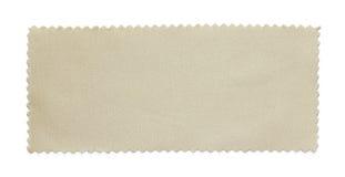 Échantillons d'échantillon de tissu Photographie stock libre de droits
