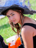 CHANTILLY - 15 ΙΟΥΝΊΟΥ: Τρόπος ζωής Prix de Diane racecourse, κοντά στο Παρίσι στις 15 Ιουνίου 2014, Γαλλία Στοκ Φωτογραφία