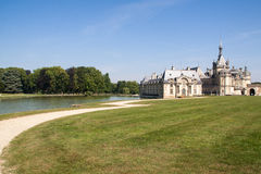 Chantilly Castle Stock Image