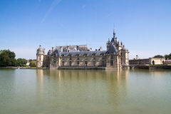 Chantilly Castle Royalty Free Stock Images