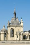Chantilly castle near Paris. France Stock Photography