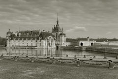 Chantilly castle Stock Photography