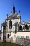 Chantilly castle on the outskirts of Paris. France. Stock Photos
