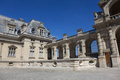 Chantilly castle, Picardie, France Royalty Free Stock Photo