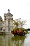 Chantilly Castle Royalty Free Stock Photography