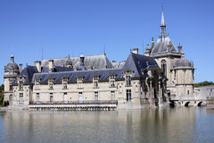 Chantilly Chateau Royalty Free Stock Photo