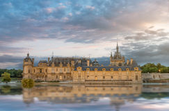 Chantilly chateau Stock Images