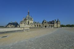 chantilly chateau de Arkivfoto