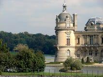 chantilly chateau de royaltyfria foton
