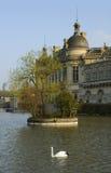 chantilly chateau de arkivfoto