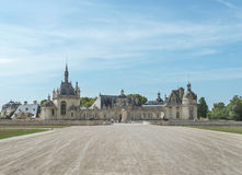 Chantilly chateau Royalty Free Stock Photography