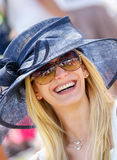 CHANTILLY - JUNE 15 : Lifestyle at Prix de Diane in racecourse, near Paris on June 15, 2014, France. Stock Photos