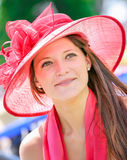 CHANTILLY - 15. JUNI: Lebensstil bei Prix de Diane in der Rennstrecke, nahe Paris am 15. Juni 2014, Frankreich Stockfoto
