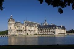 Chantilly kasztel, Picardie, Francja zdjęcie royalty free