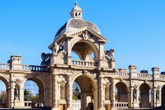 Chantilly kasztelu muzeum fotografia royalty free