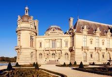Chantilly kasztelu muzeum obraz stock