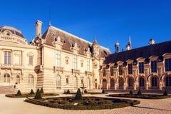 Chantilly kasztelu muzeum fotografia stock