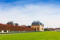Chantilly racecourse Wielkie stajenki, Francja obraz stock