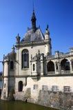 Chantilly-Schloss auf den Stadtränden von Paris. Frankreich. Stockfotos