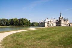 Chantilly slott Fotografering för Bildbyråer