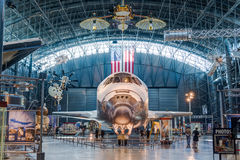 Chantilly VA - March 23, 2016: Space Shuttle Discovery at the Ud Royalty Free Stock Photo
