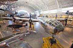 CHANTILLY, VIRGINIA - 10 DE OCTUBRE: Boeing B-29 fotos de archivo libres de regalías