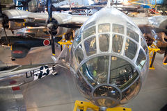 CHANTILLY, VIRGINIA - OKTOBER 10: Boeing B-29 Royalty-vrije Stock Afbeelding