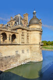 Chantily chateau in France Royalty Free Stock Photo