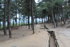 Chunuk Bair Cemetery Royalty Free Stock Photo