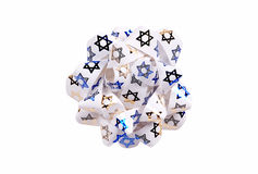 Chanukah Bow stock photos