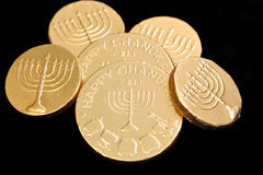 Chanukah Gelt Royalty Free Stock Image