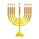 Chanukah icon Stock Photography