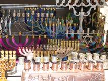 Chanukah menorahs Zdjęcie Royalty Free