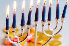 Chanukkah royaltyfria bilder