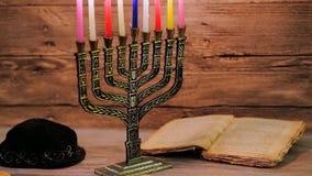 Chanukkah den judiska festivalen av ljus